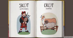 Карикатуры: Веселый чешско-русский словарь