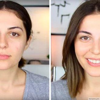 Когда нет времени на макияж, я пользуюсь этими несколькими хитростями