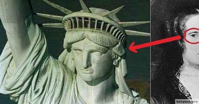 Мало кто знает, КОМУ на самом деле принадлежит лицо Статуи Свободы…