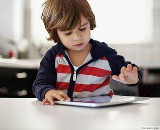 Влияние планшета на головной мозг ребёнка