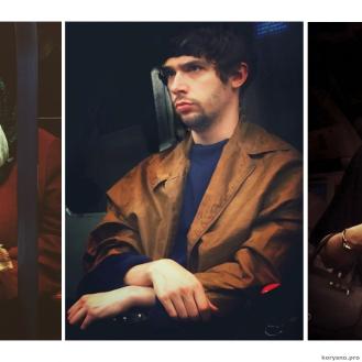 Парень тайно фотографирует пассажиров метро, напоминающих картины 16-го века