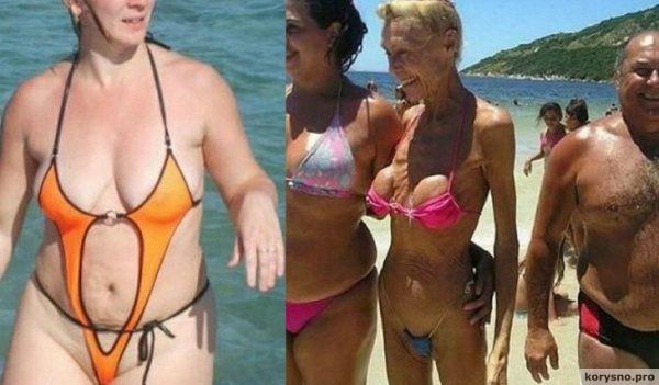Лето ударило в голову 13 безумцев, которые решились выйти на пляж в этом