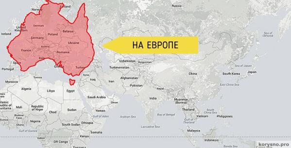 Страны и их настоящий размер  мир уже никогда не будет прежним