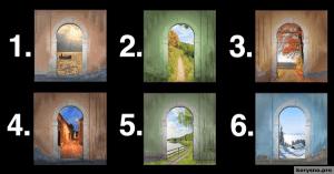 Выберите дверь, и мы расскажем ЧТО творится у вас в голове
