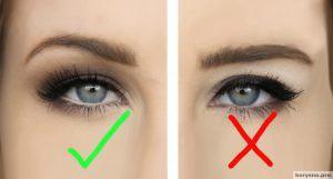 5 правил макияжа для глаз с нависшими веками широко распахнутый взгляд