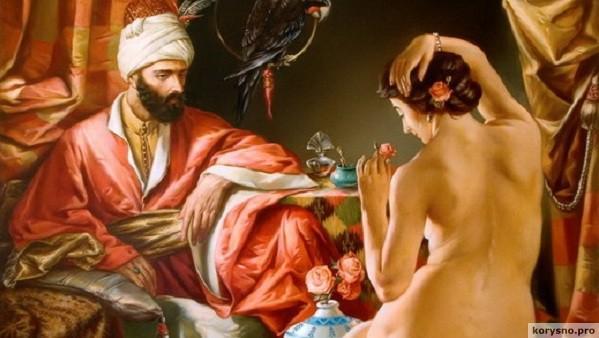 Как готовили наложниц к ночи любви в султанском гареме