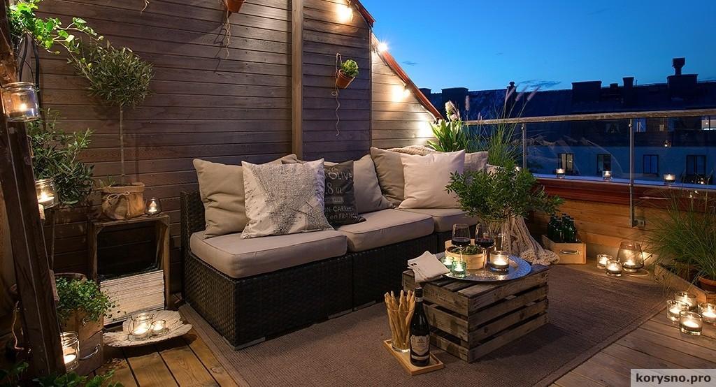 15 идей для уютного балкона ELLE Decoration 92