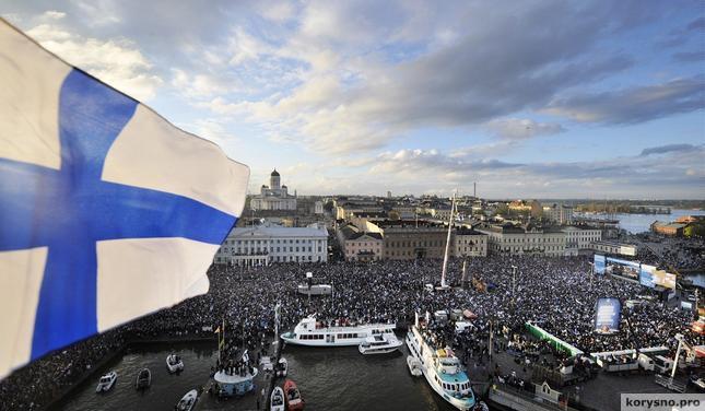 Каждому гражданину Финляндии ежемесячно будут выплачивать 800 евро