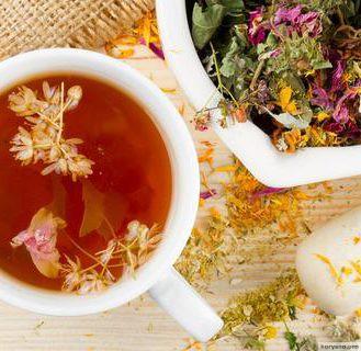 Чай из трав: Какие травы и растения можно использовать и какая от них польза