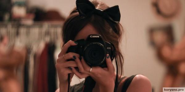 Почему нельзя фотографироваться в зеркале ?