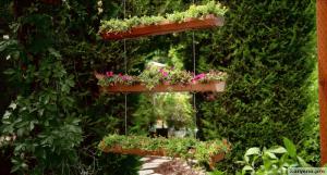 Превращаем водосточный желоб в висячие сады своими руками