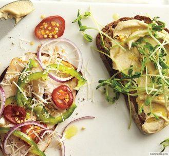 Вкуснейшие веганские бутерброды за 2 минуты