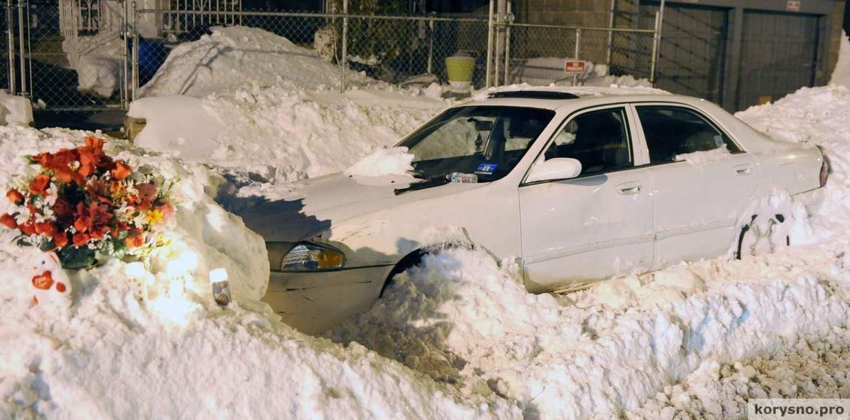 Мама с двумя детьми умерла в машине, пока их папа чистил снег...