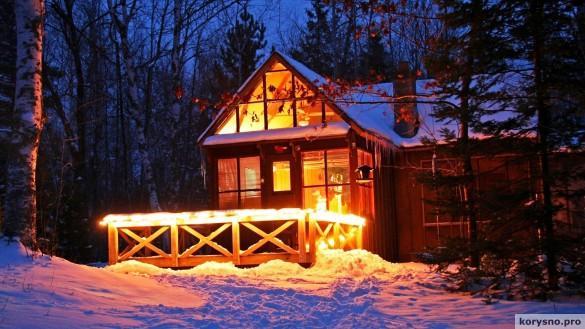 Зима на даче: чем заняться