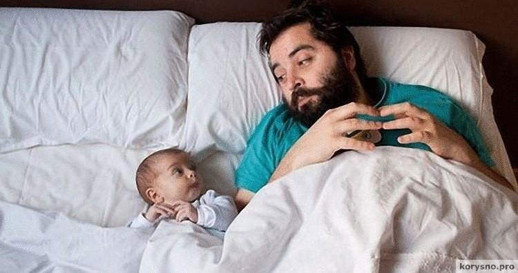 Половой член отца и сына
