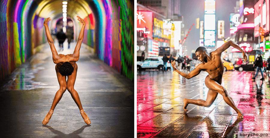 Без одежды и без сожалений: танцоры в потрясающих фотографиях Джордана Мэттера (18+)