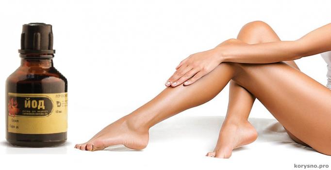 Как избавиться от нежелательных волос на теле с помощью обычного йода