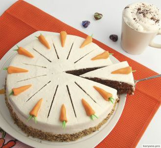 Морковный торт — невероятно вкусно и полезно!