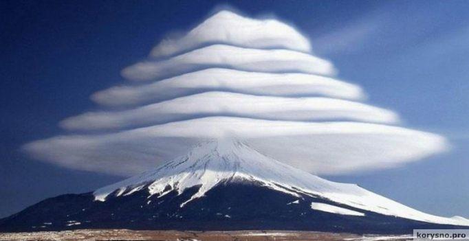 НЛО? Нет- Линзовидные облака