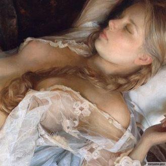 Эстетический оргазм: 20 сверхсоблазнительных девушек на картинах импрессиониского художника