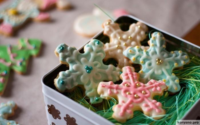 Печенье на Новый год своими руками
