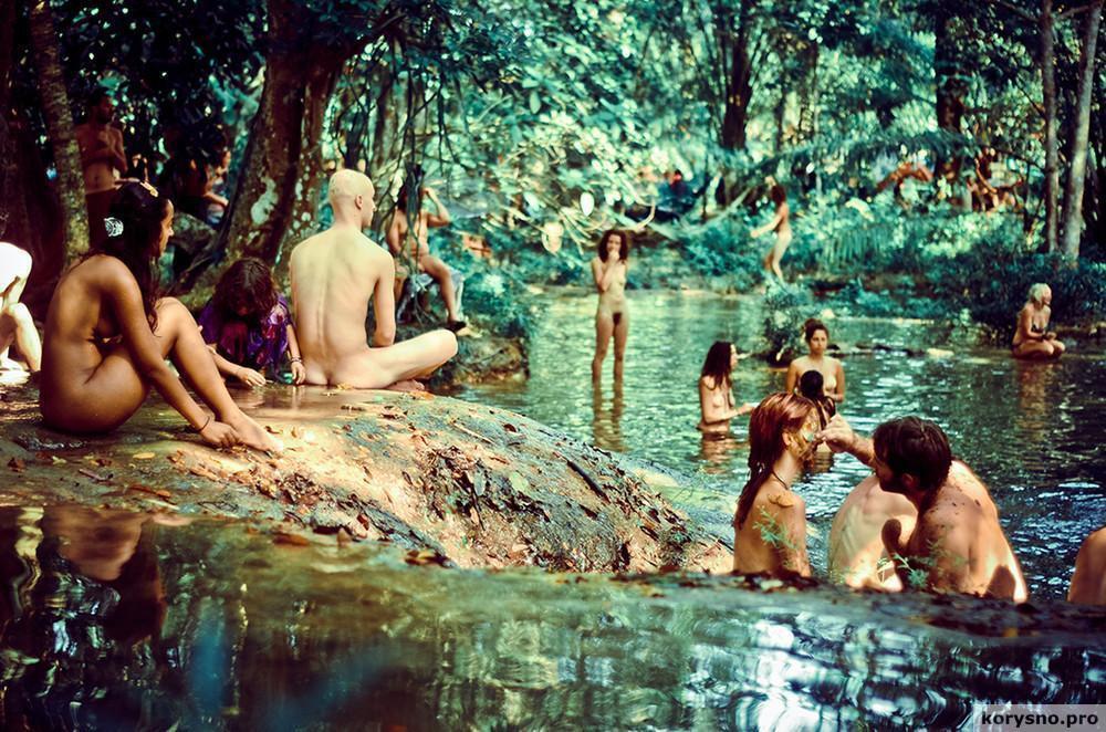 «Встреча племен радуги»: собрания современных хиппи (фото) 18+