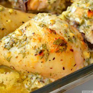 Курица по-гречески из духовки: идеальное блюдо для великолепного семейного ужина