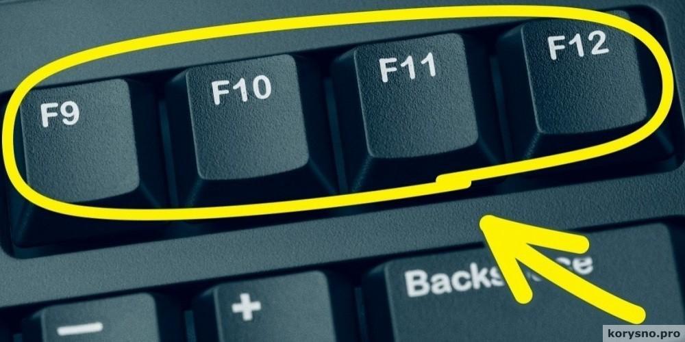 Так вот для чего нужны клавиши от F1 до F12 на клавиатуре