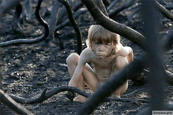 Девочка с мальчиком в лесу фильм