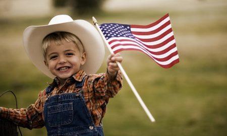 Особенности воспитания 100%-го американца