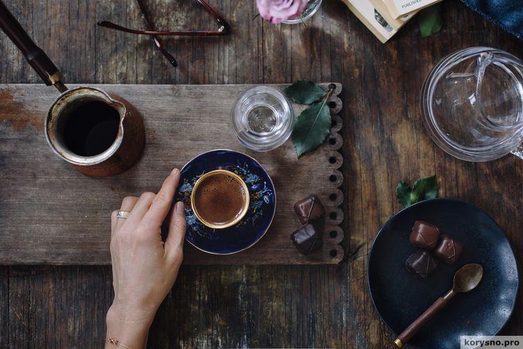 Минет – пока варится кофе….