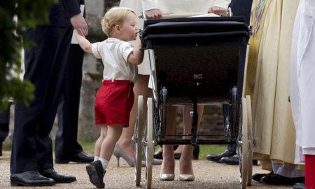 Почему принц Джордж носит шорты?