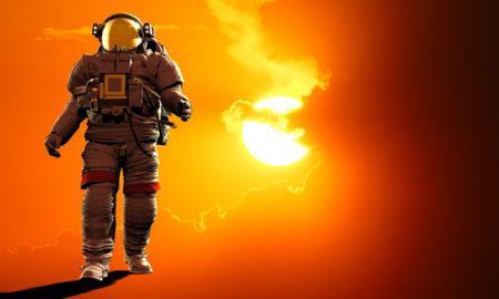 В КНДР рассказали по телевизору, что их космонавт приземлился на Солнце!