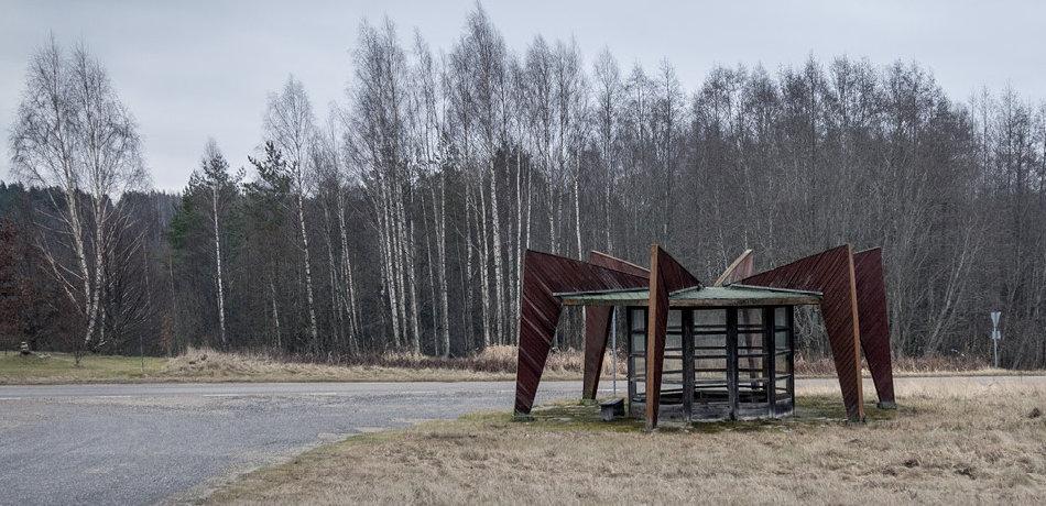 Фото советских автобусных остановок от Кристофера Хервига (Christopher Herwig)