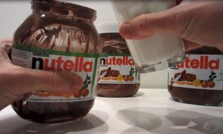 Что на самом деле содержится в банке шоколадной пасты Nutella