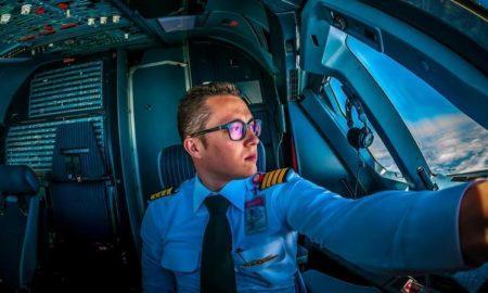 То, что видит пилот и, к счастью, не видит пассажир (видео)