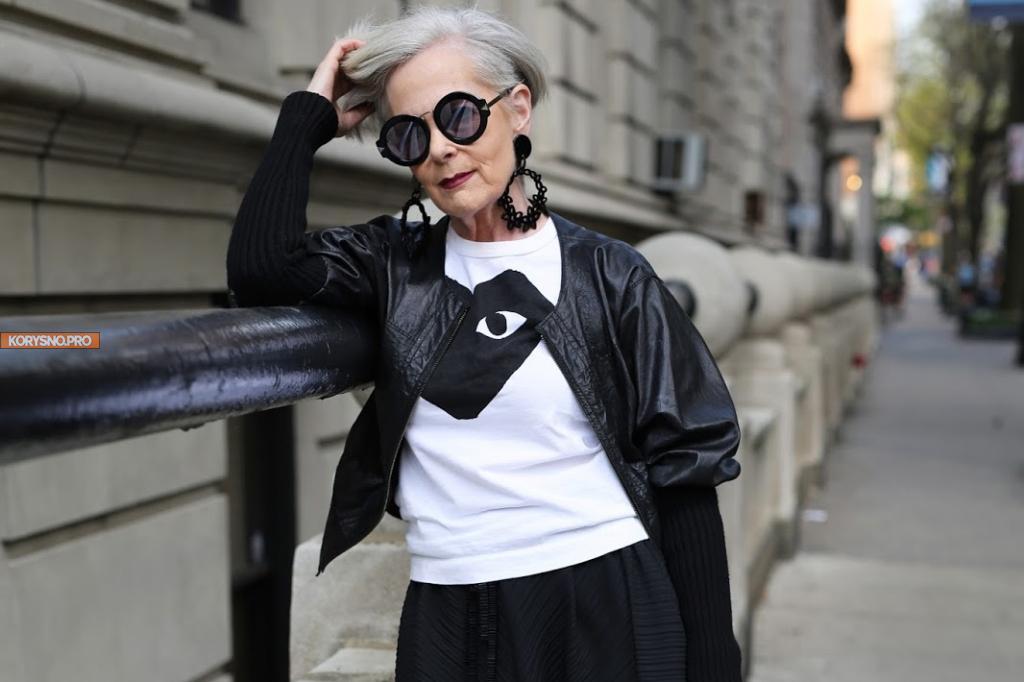 63-летняя Lyn Slater: как профессор из Нью-Йорка стала звездой интернета
