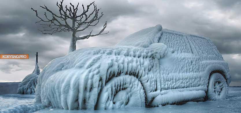 Что нельзя оставлять в холодной машине: 7 вещей, которые не переносят мороз