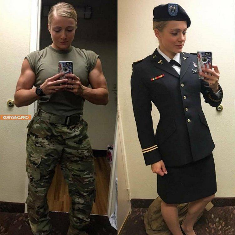Девушки в форме и без неё (36 фото)