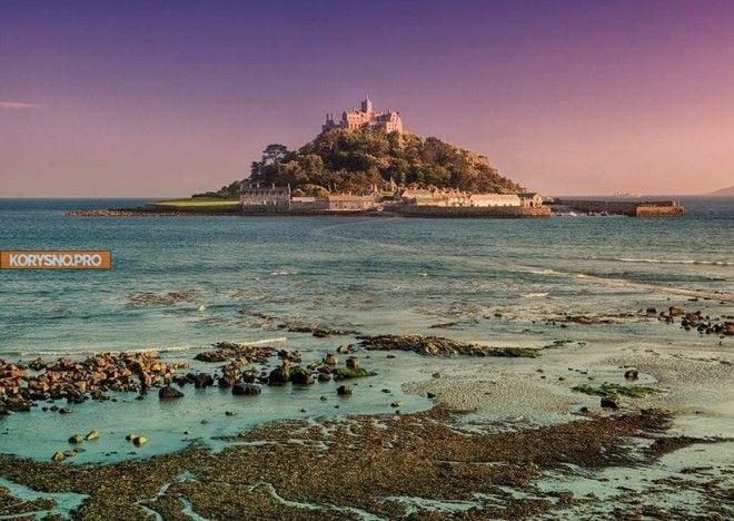 7 удивительных мест в мире, которые до неузнаваемости меняются с приливом
