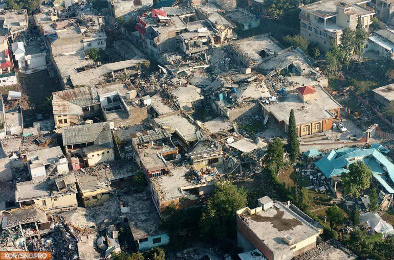 12 наиболее сильных землетрясений в истории