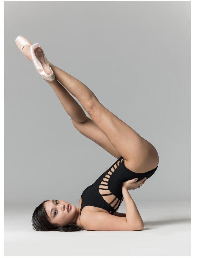 Балетная фотография Хьюза