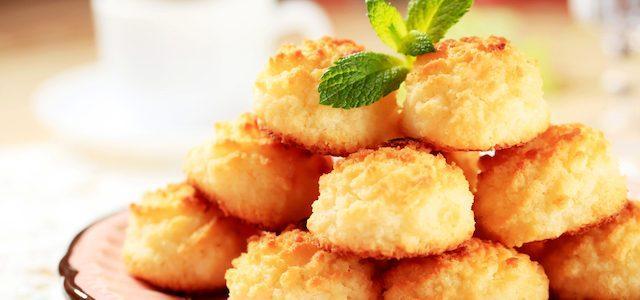 8 рецептов нежного кокосового печенья