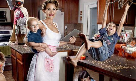 14 способов занять ребенка, когда мама хочет отдохнуть