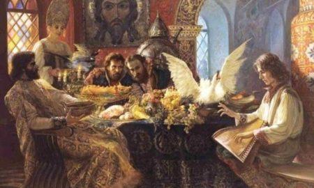 Кулинарные изыски Древней Руси: березовая каша и жареные лебеди