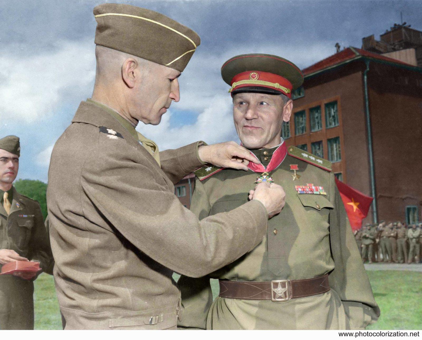 Цветные снимки Второй Мировой