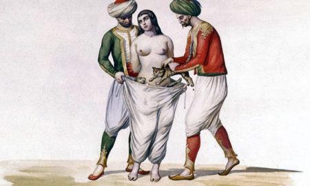 Как в разных странах карали женщину за измену?