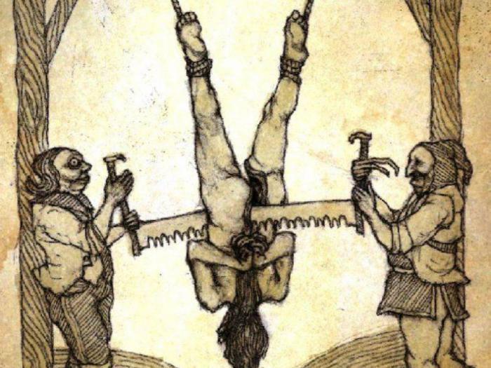 Самые необычные способы казни