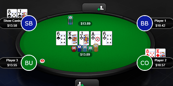 Захват покерной позиции (HJ)
